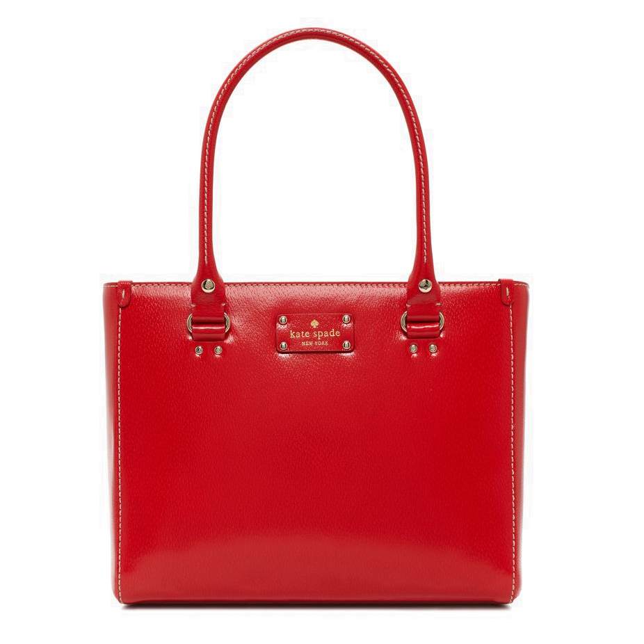Kate Spade Wellesley Quinn Geranium Red # WKRU1428