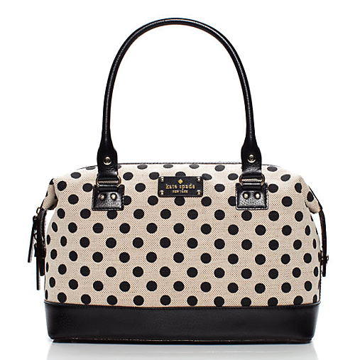 Kate Spade Belletown Justina Black & Cream # WKRU2002