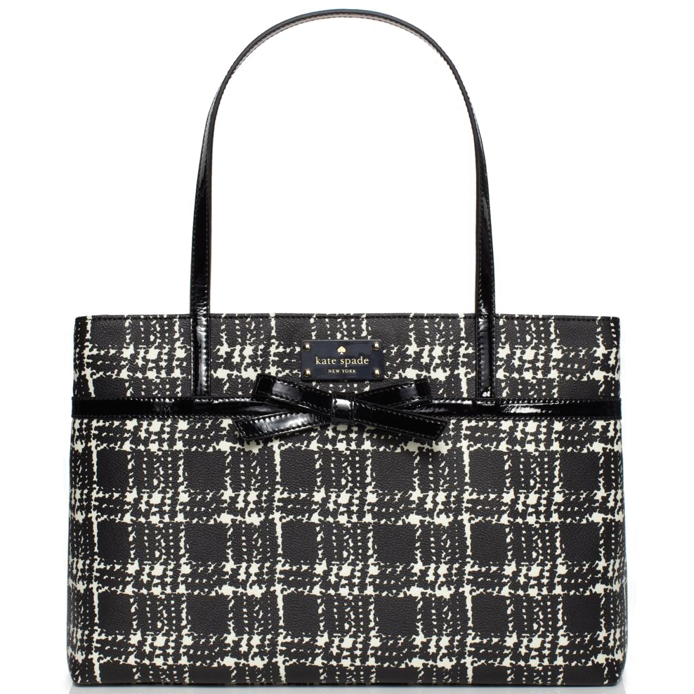 Belleville Plaid Helena Black & Cream