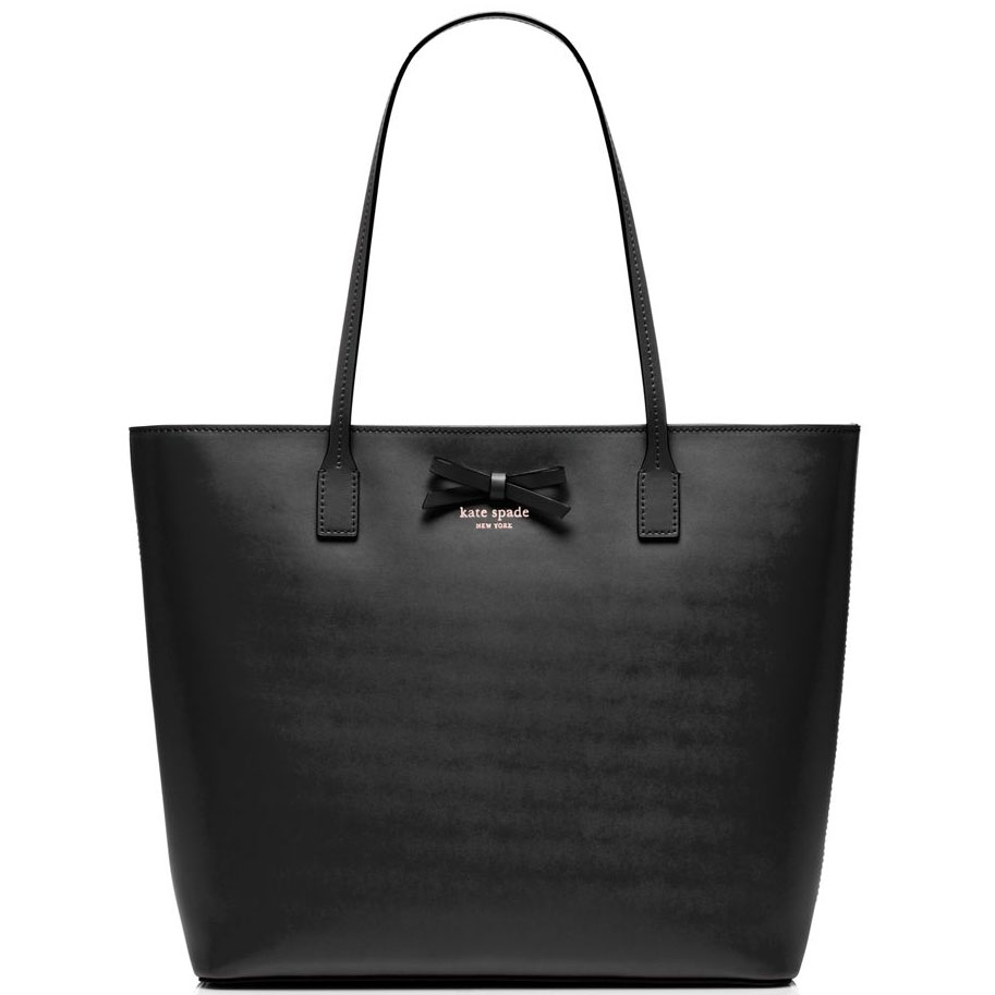 Kate Spade Sawyer Street Tori Tote Shoulder Bag Black # WKRU3742
