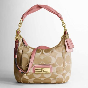 Kristin Signature Sateen Hobo
