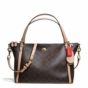 Peyton Signature East/West Convertible Shoulder Bag