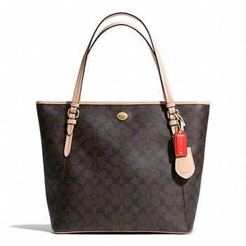 Peyton Signature Zip Top Tote