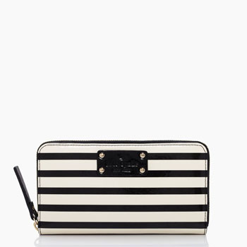 Wellesley Patent Stripe Neda