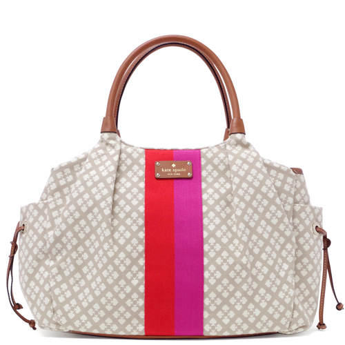 Kate Spade Classic Spade Stevie Baby Bag Stucco # WKRU1523